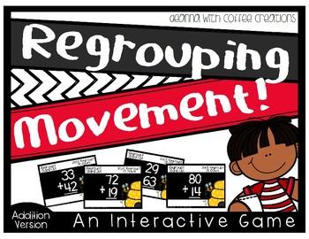 {Addition Version} Regrouping - No Regrouping Interactive Game