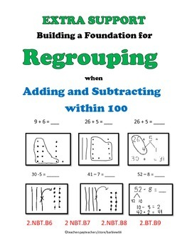 Regrouping Practice or Re-Teaching for Grade 2 Engage NY Module 1