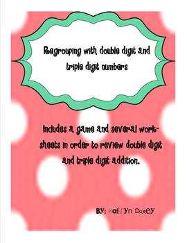 Regrouping Review- Common Core Aligned