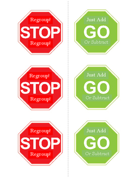 Regrouping Stop Signs