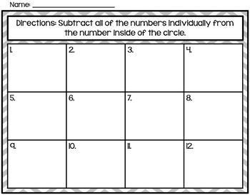 Regrouping Task Cards (Subtraction)