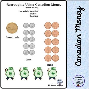 Regrouping Using Canadian Money