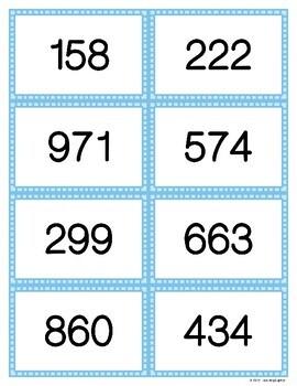Regrouping a Hundred as Ten Tens - Task Card Visual Models