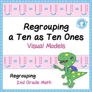 Regrouping a Ten as Ten Ones - Task Card Visual Models