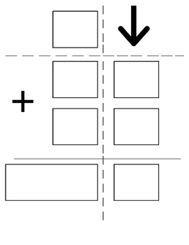 Regrouping double digit visual worksheet
