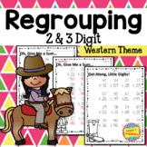 Addition and Subtraction with Regrouping, 2 & 3-Digit -- C
