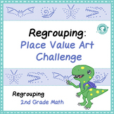 Regrouping for Addition: Place Value Art Challenge