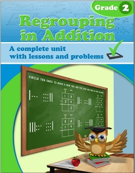 Regrouping in Addition - grade 2 common core