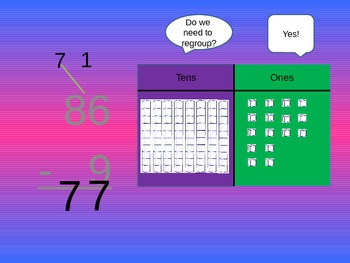 Regrouping in Subtraction Presentation
