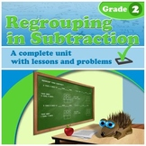 Regrouping in Subtraction - grade 2 common core (Distance
