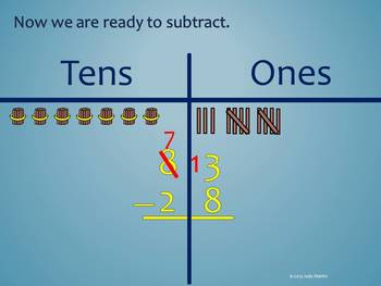 Regrouping in Subtraction to the Tens Place
