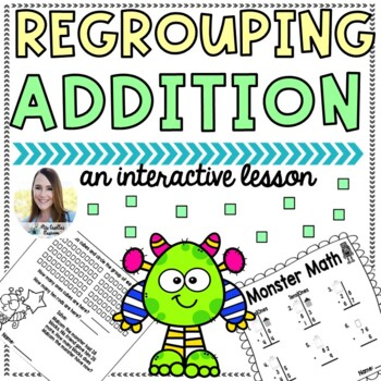 Monster Math (Regrouping with Addition)