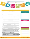 Spanish Regular AR/ER/IR Preterite Worksheet - JB