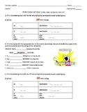 Regular -AR -ER -IR Verb Conjugation Quiz / Activity