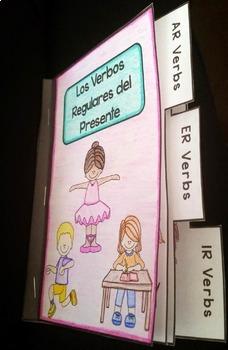 Regular AR, ER, and IR Verbs Mini Book