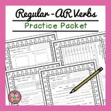 Regular -AR Verbs Packet