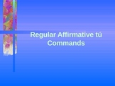 Regular Affirmation tu commands