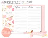 Regular Dated Notes Traveler Notebook Refill