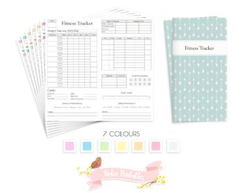 Regular Fitness Tracker Traveler Notebook Refill