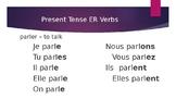 Regular French Verb Posters/Slides