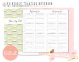 Regular Grocery List Traveler Notebook Refill