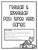 Regular & Irregular Past Tense Verbs: Game & Cards