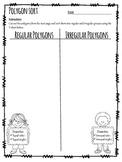 Regular & Irregular Polygon Sort