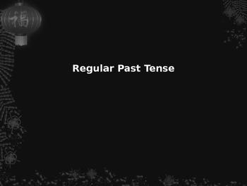 Regular Past Tense: A Phonological Approach