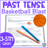 Distance Learning Past Tense Verbs Speech Therapy : Basket