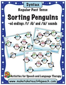 Regular Past Tense-Sorting Penguins