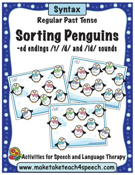 Regular Past Tense-Sorting Penguins