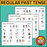 Regular Past Tense Verbs: Games for Ending Sounds /t, d, ɪd/