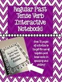 Regular Past Tense Verbs Interactive Notebook!