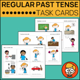 Regular Past Tense Verbs: Task Cards for Ending Sounds /t, d, ɪd/