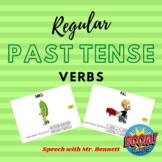 Regular Past Tense (-ed) BOOM Cards- with ANIMATION!
