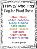 Regular Plural Game