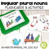 Regular Plural Noun Flashcards and Activities