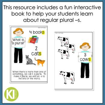 Regular Plural Noun Practice {Interactive Book & Worksheets}