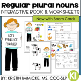 Regular Plural Noun Practice {Interactive Book & Worksheets}