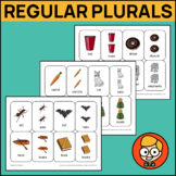 Regular Plural Nouns Playing Cards: /S/ Ending