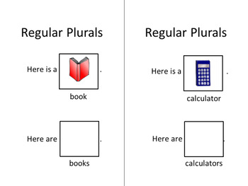 Regular Plurals Interactive Adaptive Book