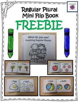 Regular Plurals Mini Flip-Book Freebie  11 pages