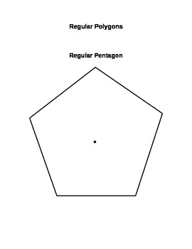 Regular Polygons (Includes Pentagon, Hexagon, Heptagon, an