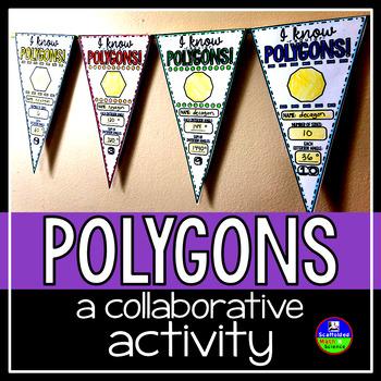 Regular Polygons Pennant