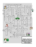 Regular Present Tense Verb Conjugations Crossword