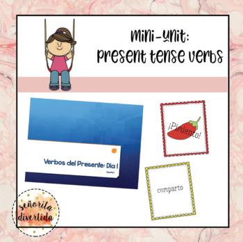 Regular Present Tense Verbs Mini-Unit