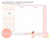 Regular Ruled Notes Traveler Notebook Refill