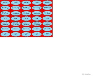 Regular Size Binder Clip Labels - Dr. Seuss Tribute Colors - lowercase