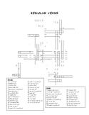Regular Present Tense Verb Crossword (No Stem Changes)