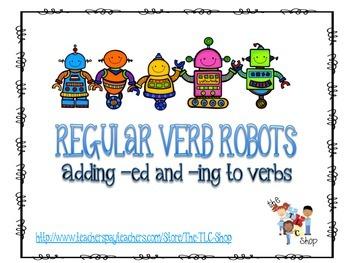 Regular Verb Robots!